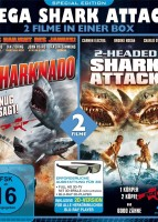 MEGA SHARK ATTACK: Sharknado & 2-Headed Shark Attack